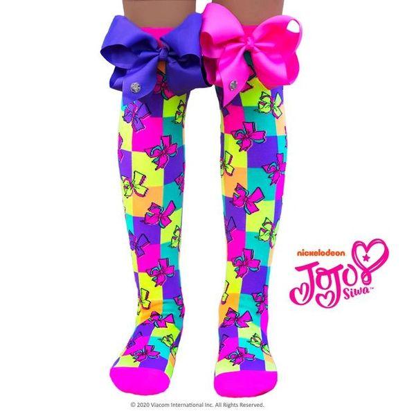 JOJO BOWS SOCKS - Mad Mia x Jojo Siwa