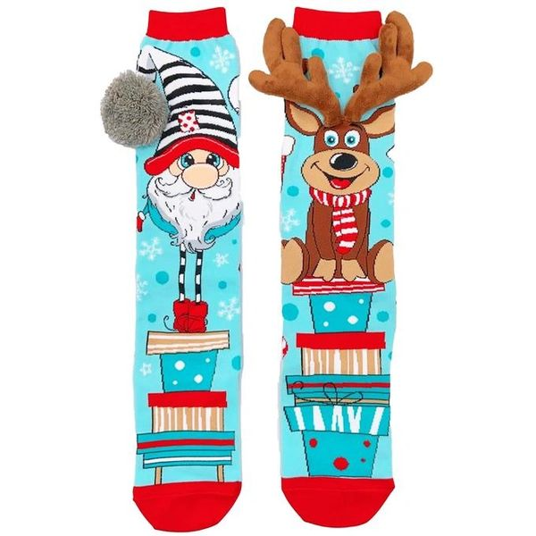 CHRISTMAS SOCKS - MAD MIA