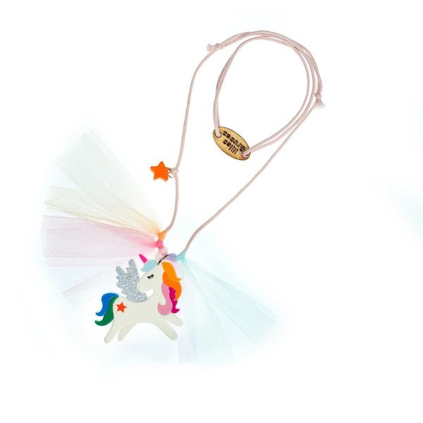 Winged Unicorn Necklace - Lilies & Roses NY