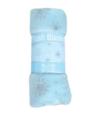 Snowflakes Plush Blanket