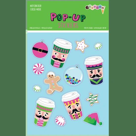 Nutcracker Pop-Up Stickers