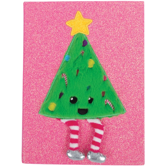 Christmas Tree Furry Journal