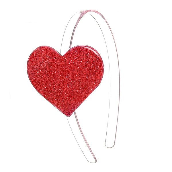 Big Heart Headband - Lilies & Roses NY
