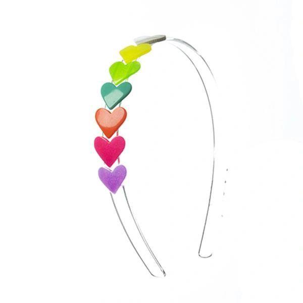 Multi Hearts Headband - Lilies & Roses NY