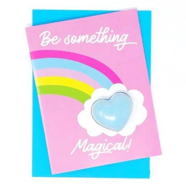 BE SOMETHING MAGICAL - BATH FIZZY CARD - Feeling Smitten