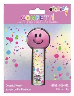 Confetti Smiley Lip Balm
