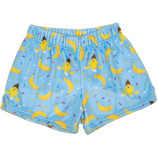 Bananas Plush Shorts