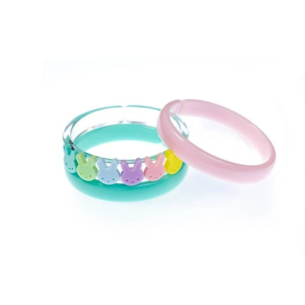 Cute Bunny Pastel Colours Bangles (Set of 3) - Lilies & Roses NY - SOLD OUT!