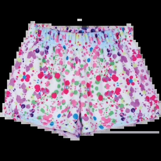 Confetti Plush Shorts