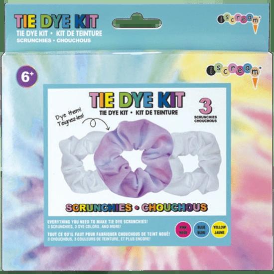 DIY Tie Dye Scrunchies Kit