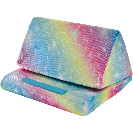 Shimmering Rainbow Tablet Pillow