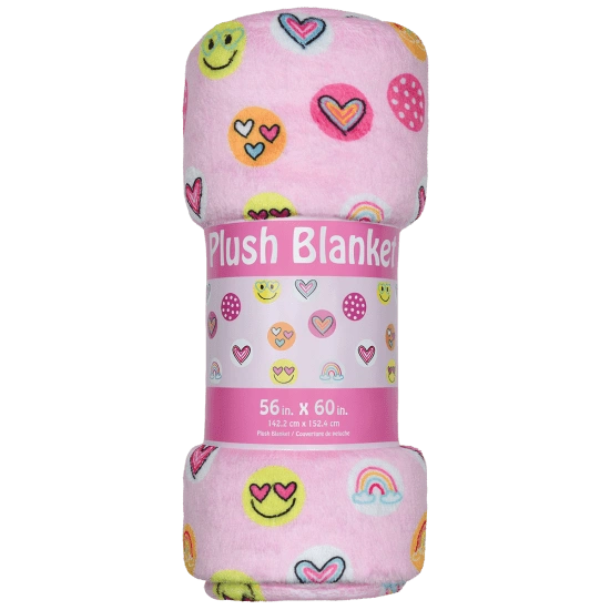 Sunshine Funshine Plush Blanket
