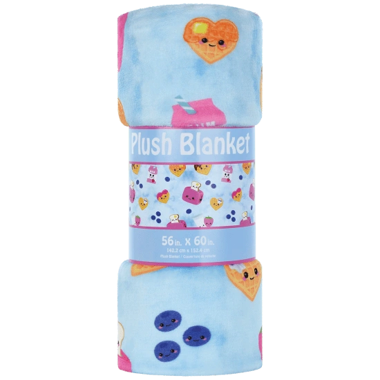 Breakfast Fun Plush Blanket