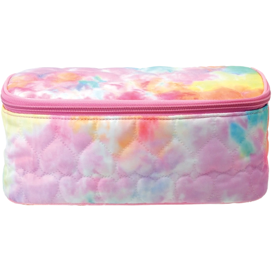 Cotton Candy Heart Cosmetic Case