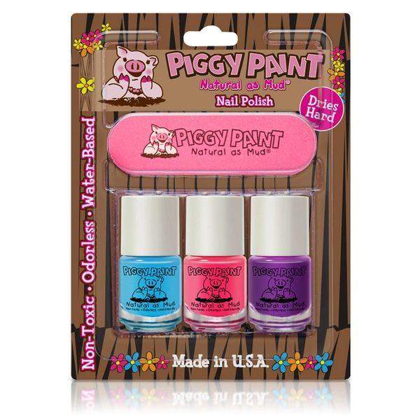 3 Pack & File - Piggy Paint