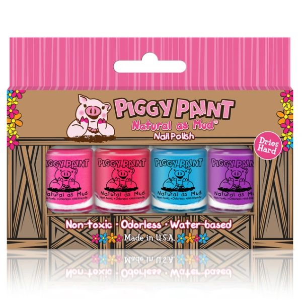 4 Mini Polish Set - Piggy Paint