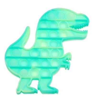 OMG Pop Fidgety - Tie-Dye Dinosaur Translucent