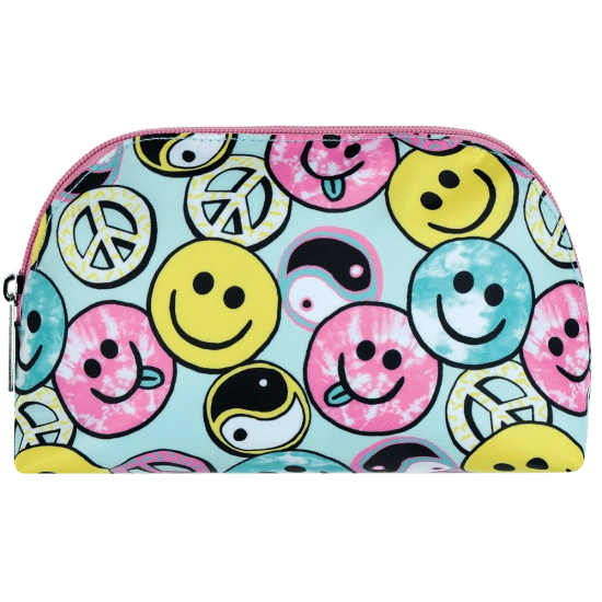 Be All Smiles Oval Cosmetic Bag