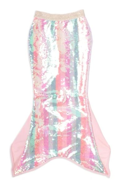 Mermaid Tail Cover Up- Birthday Stripe w/Sequins - SHADE CRITTERS