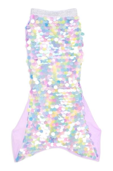 Mermaid Tail Cover Up- Tie Dye Paillette - SHADE CRITTERS