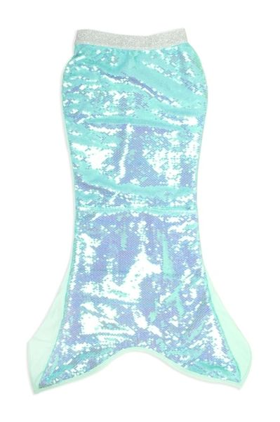Mermaid Tail Cover Up- Mint Sequin - SHADE CRITTERS