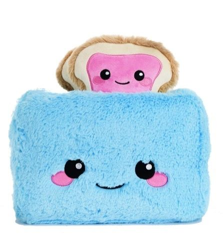 Trevor Toaster Furry and Fleece Pillow - SOLD OUT!