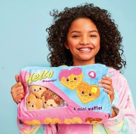 Waffle Time Fleece Pillow - SOLD OUT!