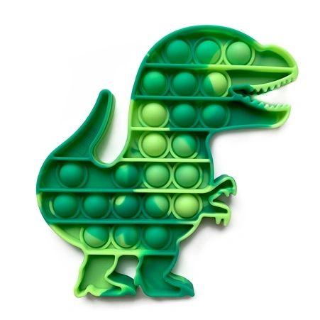 OMG Pop Fidgety - Tie-Dye Dinosaur