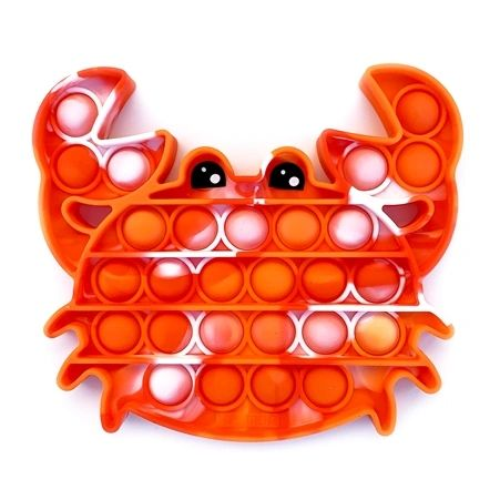 OMG Pop Fidgety - Tie-Dye Crab