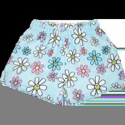 Daisies Plush Shorts
