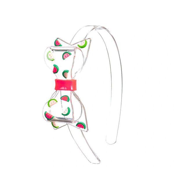 Bow Watermelon Headband - Lilies & Roses NY