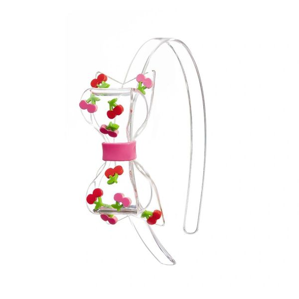 Bow Cherry Headband - Lilies & Roses NY - SOLD OUT!