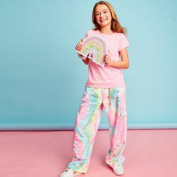 Swirl Tie Dye Plush Pants
