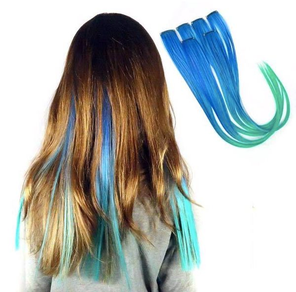 OMBRE 6 PACK CLIP-IN STRAIGHT HAIR EXTENSIONS - Magic Manes