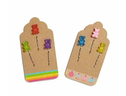 Gummy Bear Bobby Pins (Set of 3 per pack)