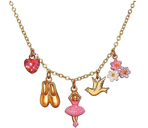 Ballerina 5 Charm Necklace