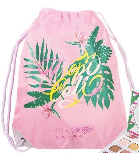 TROPICALI Drawstring Backpack - PETITE 'N PRETTY