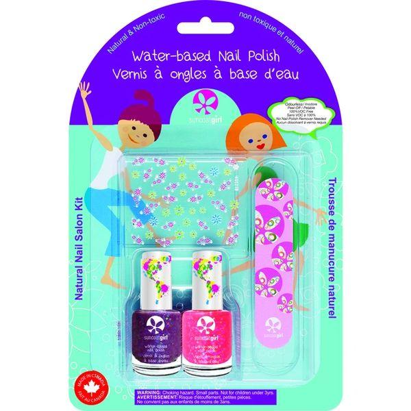 Natural Nail Salon Kit - Forever Sparkles
