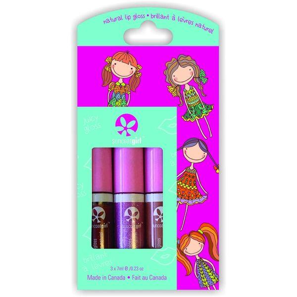 Juicy Gloss -Trio All Natural Lip Gloss Kit