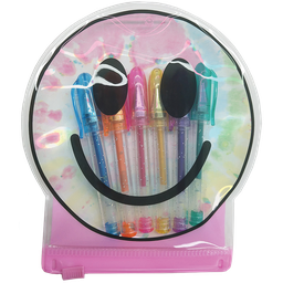 Happy Face Mini Gel Pen Set
