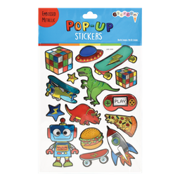 Toys and More Pop-Up Stickers