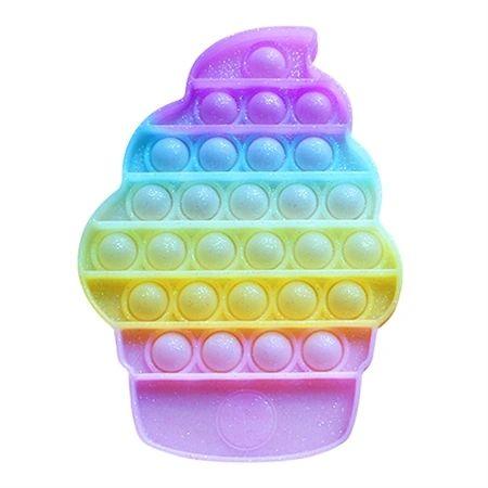 "OMG Pop Fidgety-""GLITTER"" Ice Cream Cone"