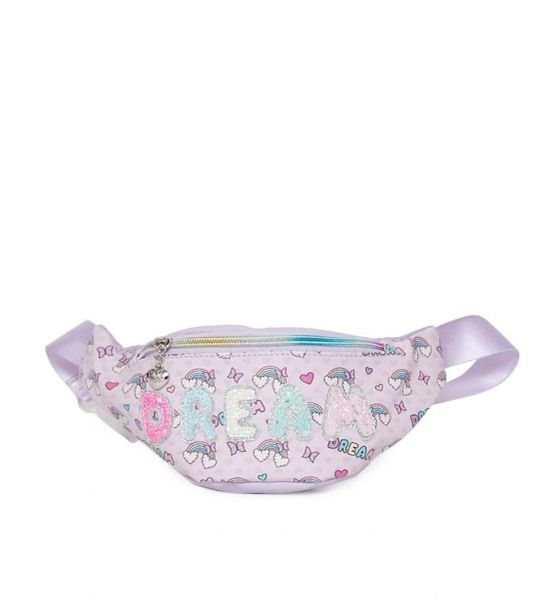 'DREAM' OVER THE RAINBOW BUBBLE PRINT FANNY PACK - OMG Accessories