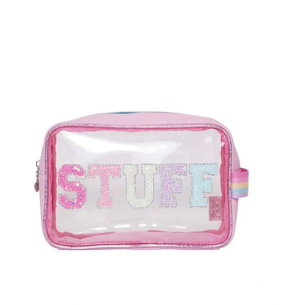 CLEAR 'STUFF' POUCH - OMG Accessories
