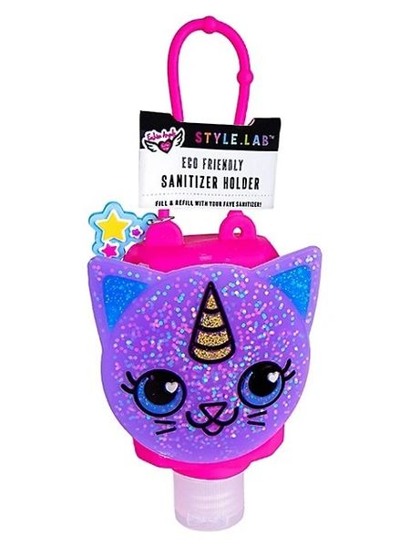 Refillable Kitty Hand Sanitizer Holder - FASHION ANGELS