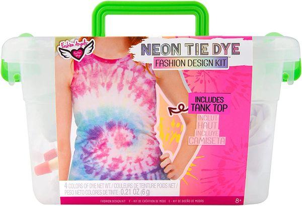 Neon Tie Dye Tank Top Kit - FASHION ANGELS