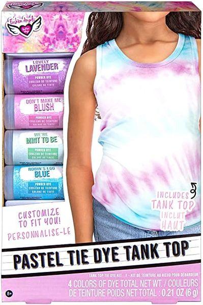 Pastel Tie Dye Tank Top Set - FASHION ANGELS
