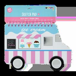 Ice Cream Truck Giant Sketch Pad
