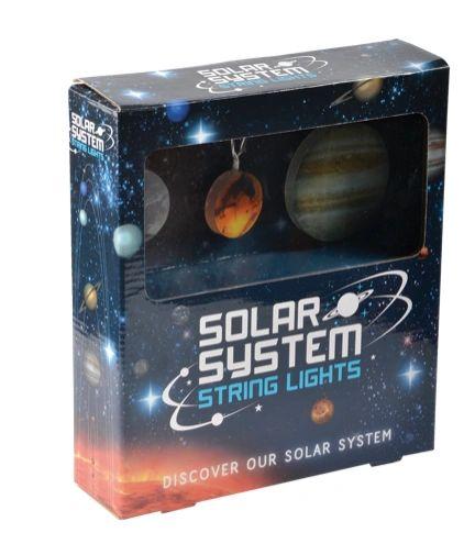 Solar System Planet String Lights
