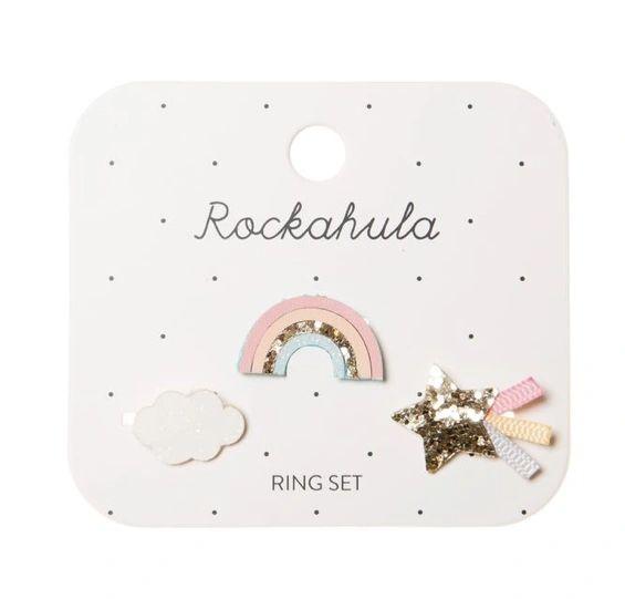 Sorbet Rainbow Ring Set - ROCKAHULA KIDS